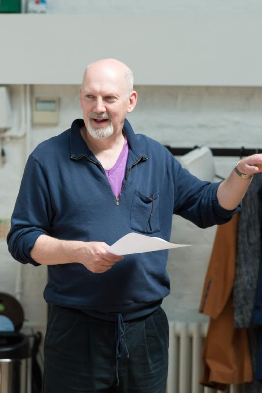 Sweet Bird of Youth rehearsal, Old Vic