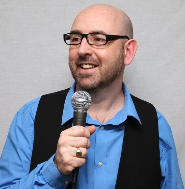 Joe Fisher presenter 2016