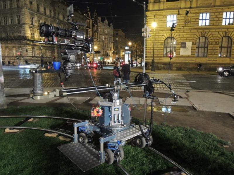 filming feature movie in Prague