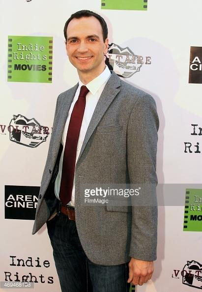 Andrew Fitch (star of Candlestick) attends 'Candlestick' Los Angeles Premiere at Arena Cinema Hollywood on April 11, 2015 in Hollywood, California.