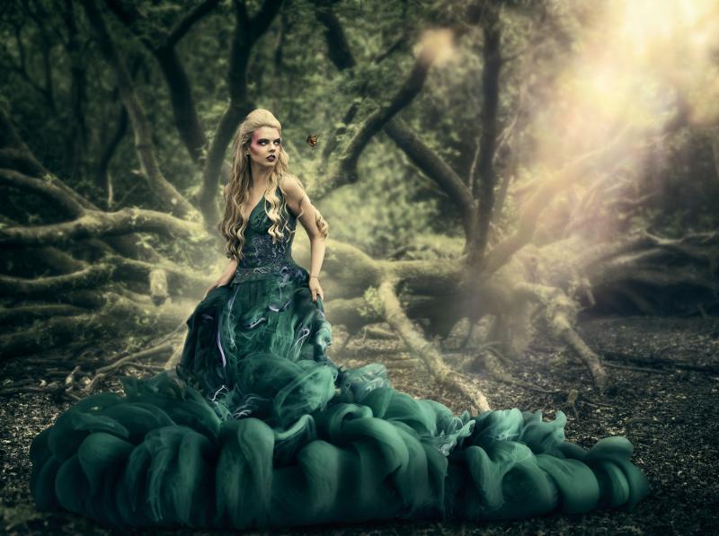 Ayvianna Snow - 'The Aqueous Dress'
