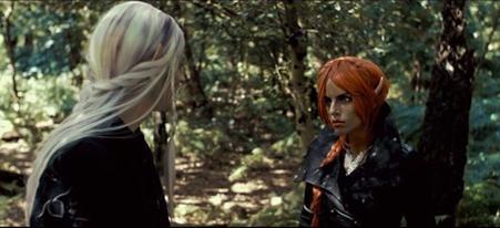 Veronica Jean Trickett as 'Phenir'. Selwyn production film stills