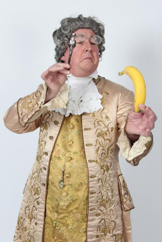 Georgian Fop with banana