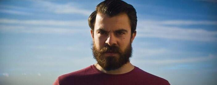 Beard shot