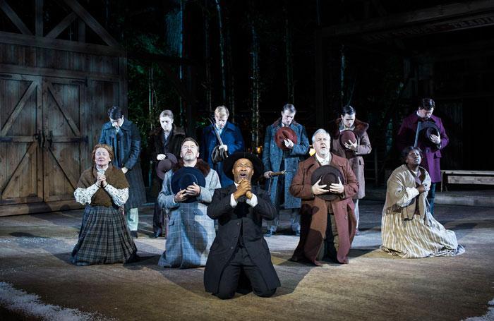 Dresser - Seven Brides for Seven Brothers, Regent's Open Air Theatre
