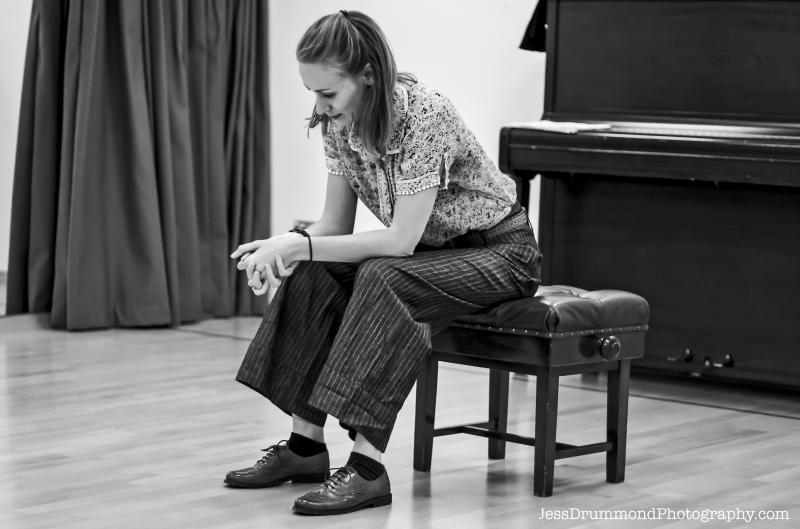 The Ghost Sonata rehearsals