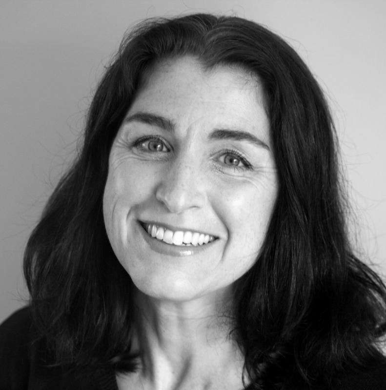 Georgiana smiling Sept 2015 black and white3