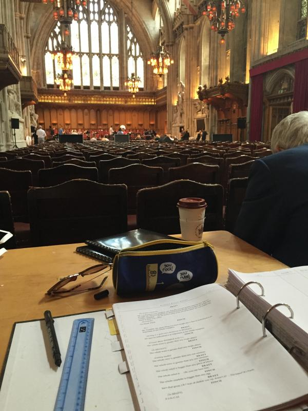 Technical Rehearsals For How To Succeed, The Guildhall, London