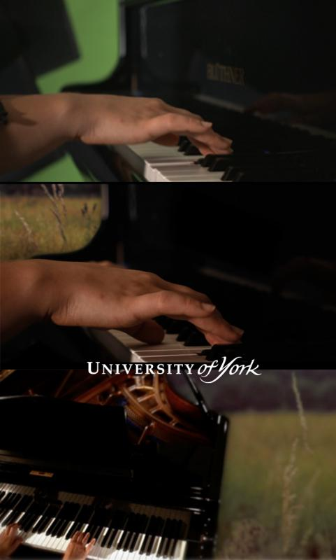 Green screen extraction - Uni of York MA VFX