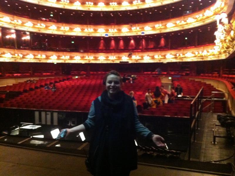 Royal Opera House Stage Mangement secondment