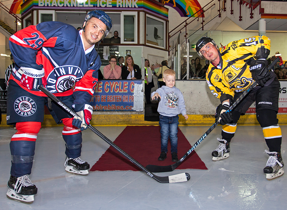 Young-Boy-Droping-Ice-Hockey-Puck-Bracknell-Bees