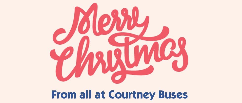 Merry Christmas from Courtney Buses