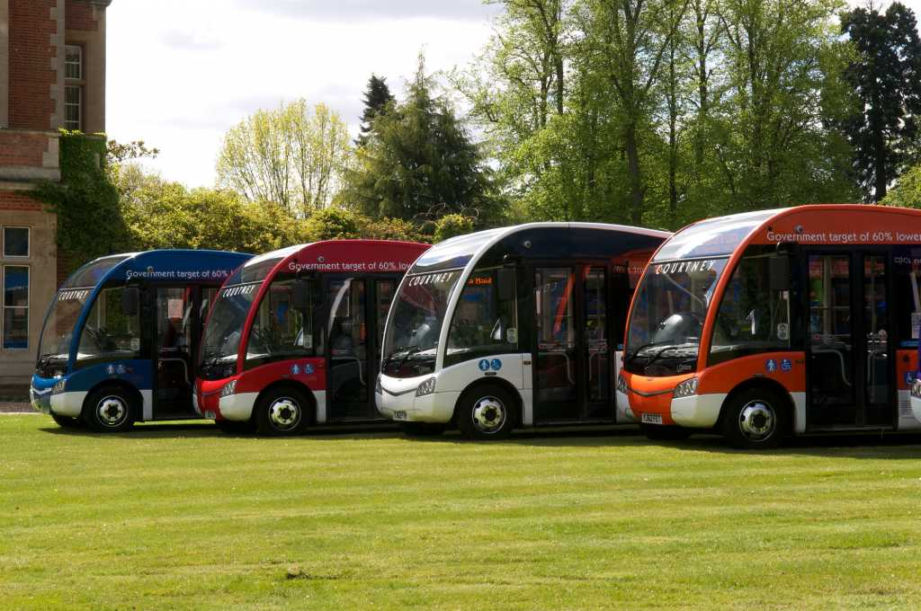 4 of our buses on display