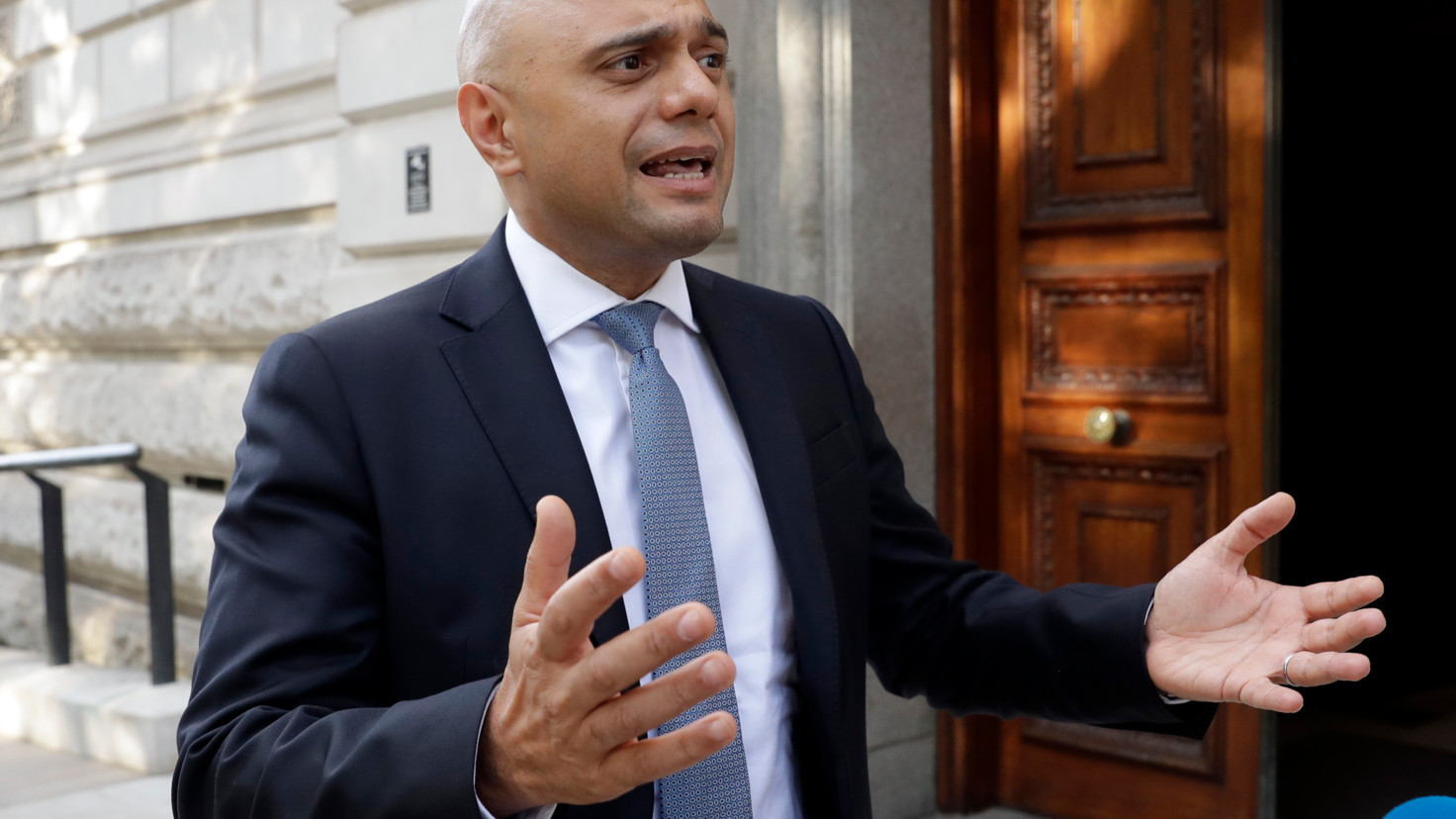 Chancellor Sajid Javid to give his first UK Budget in November