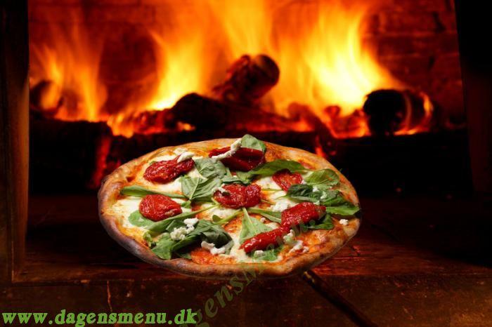 Hillerød Stenovns Pizza -