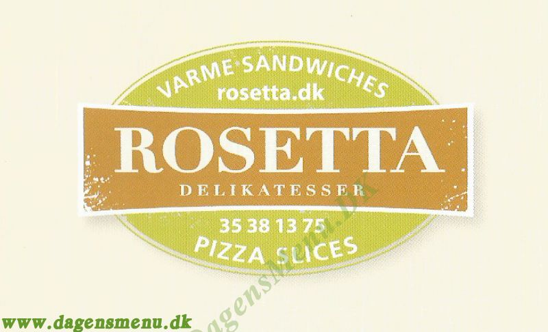 Rosetta Sandwiches