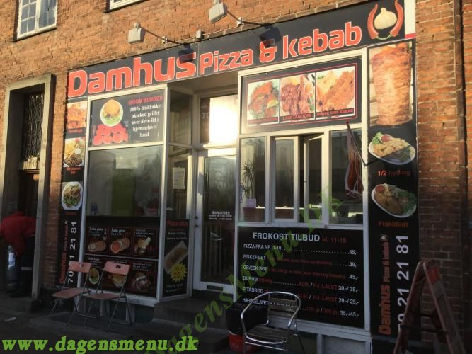 DAMHUS PIZZA & KEBAB