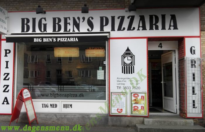 BIG BEN´S PIZZA Nordvest