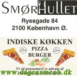 SMØRHULLET Pizza - Burger