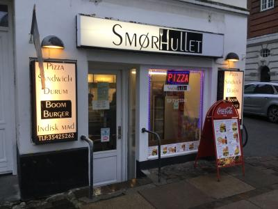 SMØRHULLET Pizza - Burger