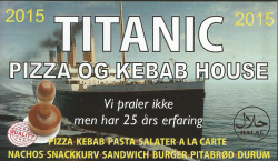 Titanic Pizza & Kebab House