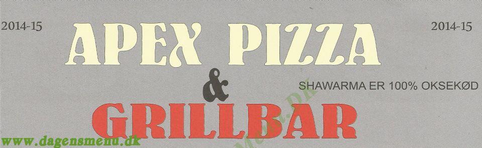 apex pizza hvidovre luder i esbjerg