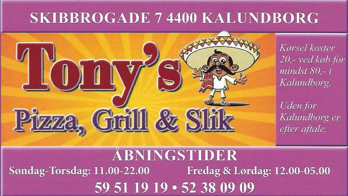 Tony's Pizza & Grill