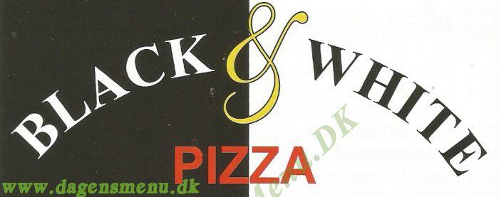 BLACK & WHITE PIZZA