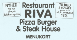 RIVA PIZZA BURGER & STEAKHOUSE