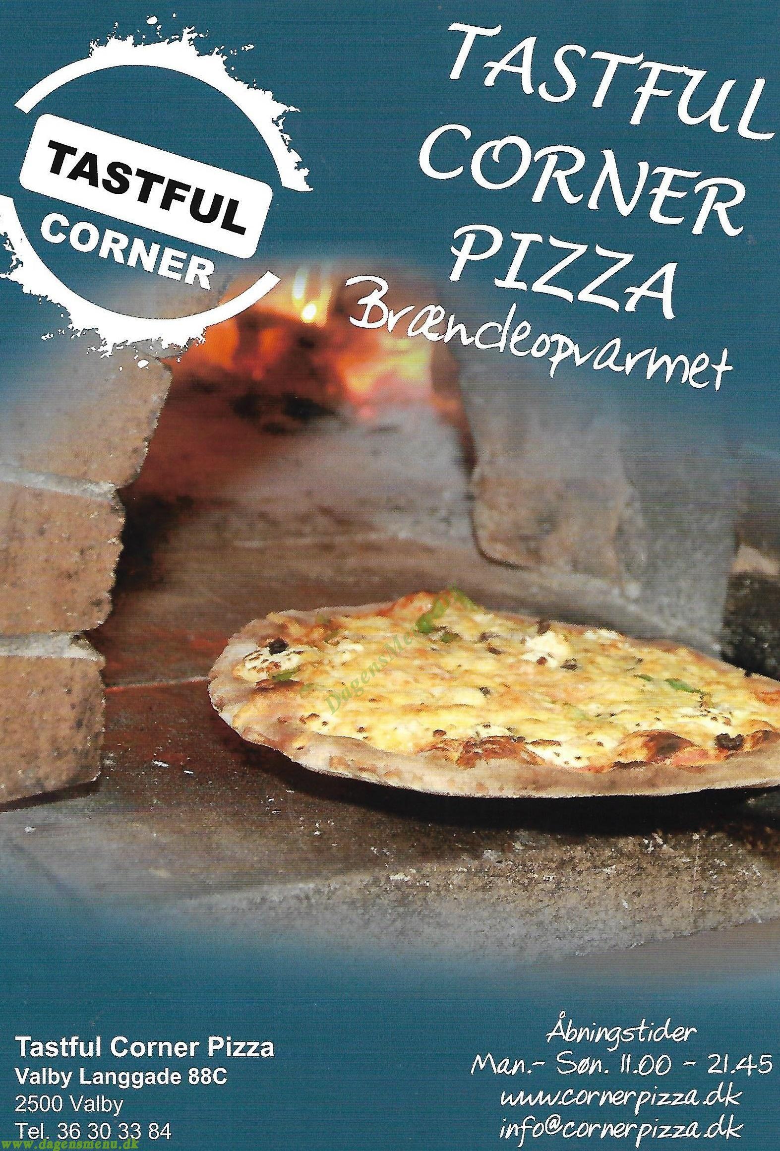Tasteful Corner Pizza - Menukort