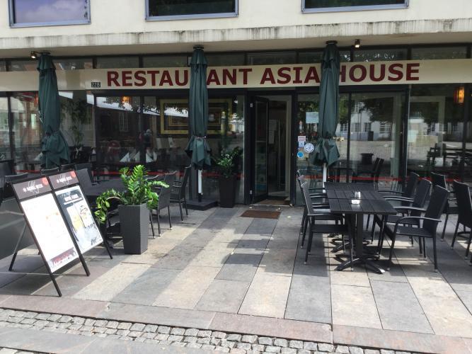 Restaurant Asia House. Kinesisk restaurant