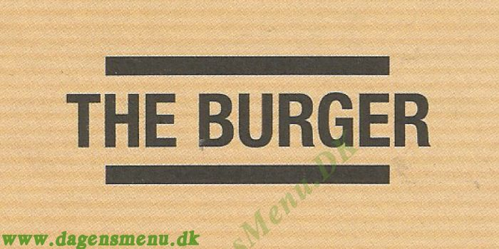 The Burger Take away