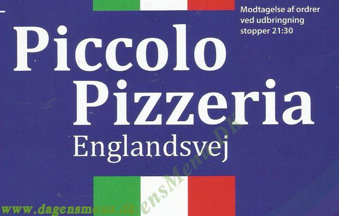 Piccolo Pizzeria Englandsvej