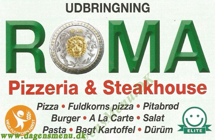 Roma Pizza Take Away