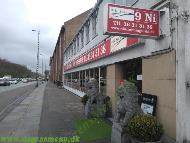 9-Ni Sushi & Kinesisk TakeAway