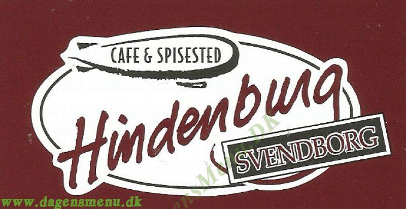 hindenburg svendborg menukort