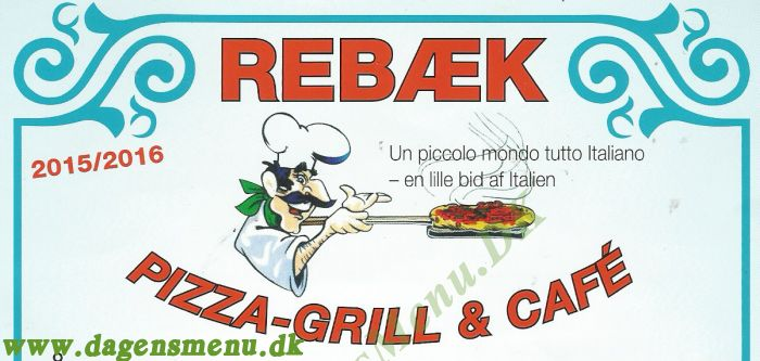 Rebæk Pizza-Grill & Cafe