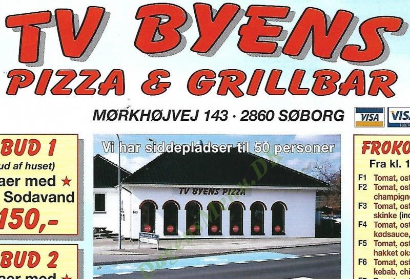 Tv-byens Pizza Og Grillbar