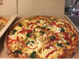 Super lækker pizza