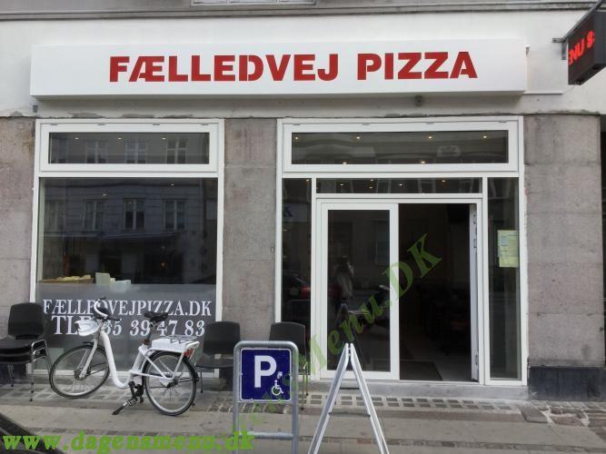Fælledvej Pizza Nørrebro