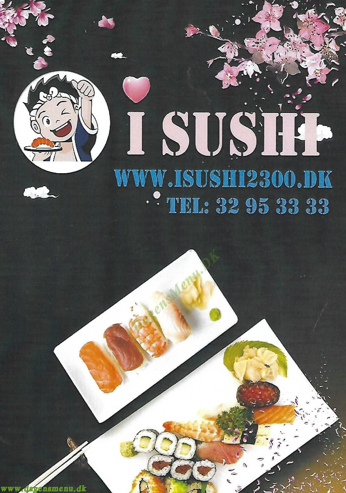 I Sushi 2300 - Menukort