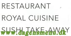 Restaurant Royal Cuisine
