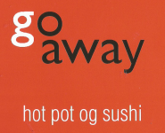 Go Away hot pot og sushi