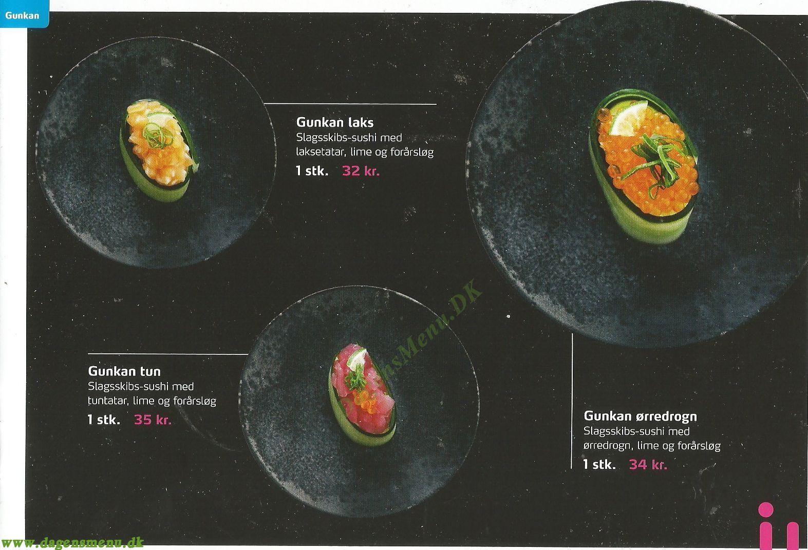 Wabiwabi Sushi & More - Menukort