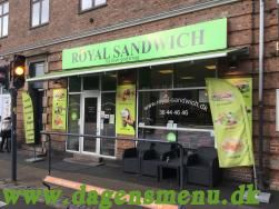 Royal Sandwich, Se menu Ring og Bestil