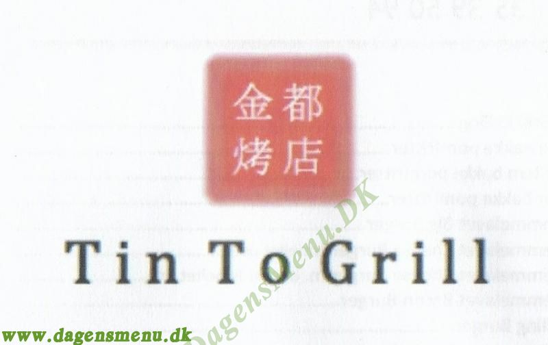 Tin To Grill