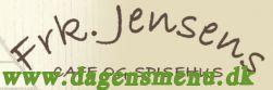 Frøken Jensens