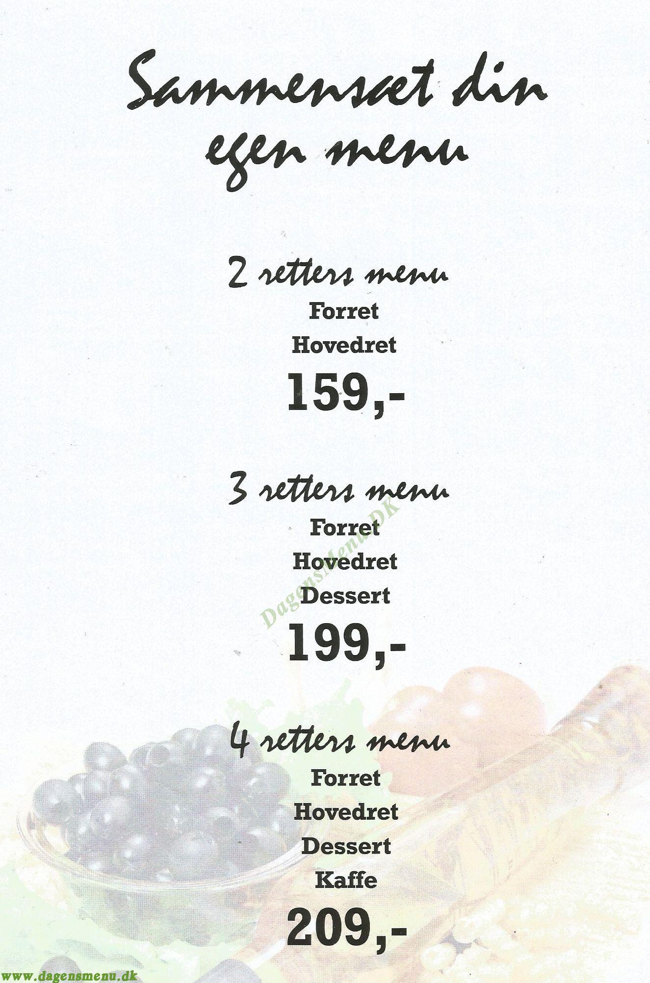 Café & Restaurant Carpe Diem - Menukort