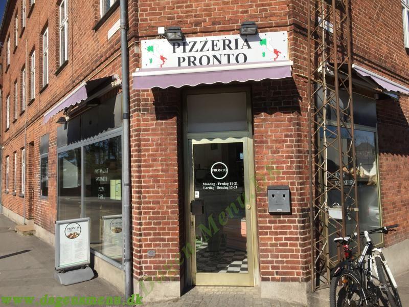 pronto pizza næstved