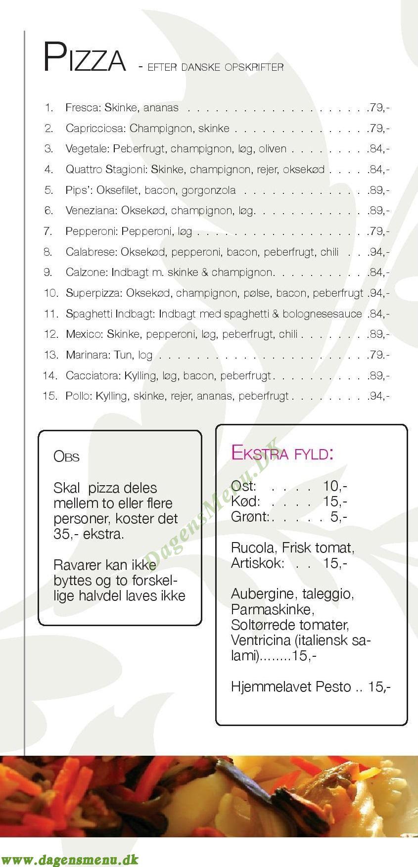 pips pizza risskov menu
